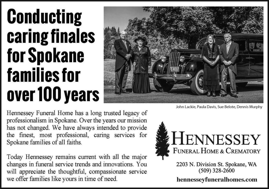 Hennessey Funeral Home Spokane Washington - Sport Cars ...